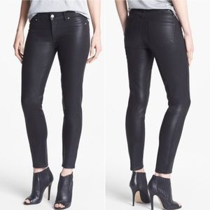 PAIGE Verdugo Ultra Skinny Pant in Black Silk